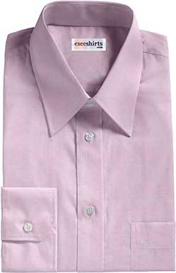 Purple Broadcloth Dress Shirt