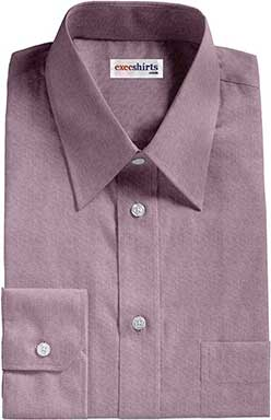 Purple Oxford Dress Shirt