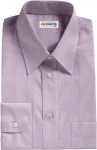 Purple Pinpoint Dress Shirt