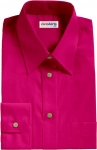 Purple-Red Broadcloth Dress Shirt