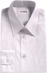 Pink Deluxe Pinstripe Dress Shirt