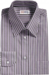 Black/Purple Striped Dress Shirt 2