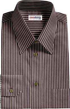 Black Striped Dress Shirt