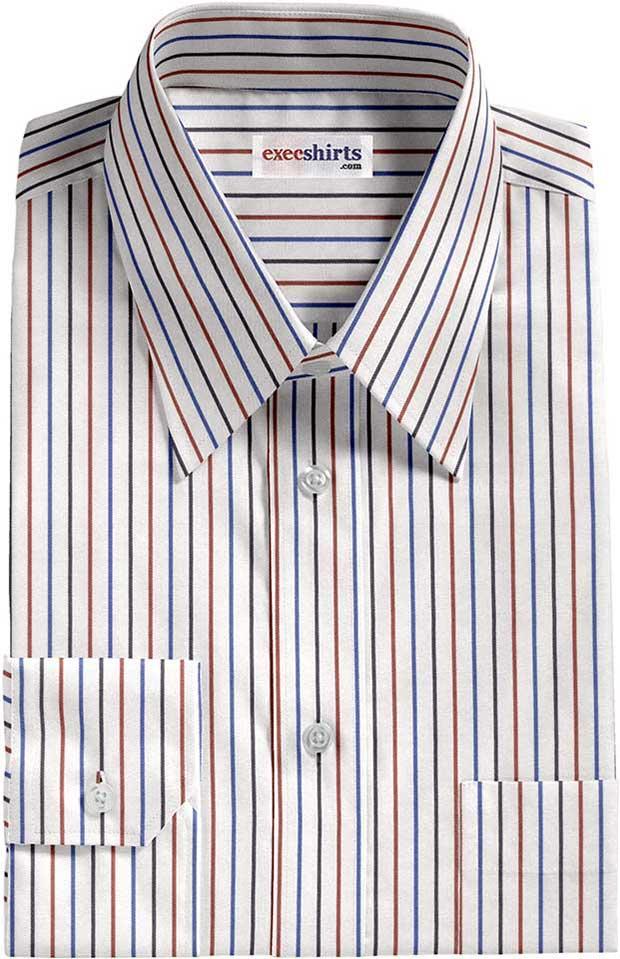 Multi Colored Stripes Multi Colored Striped Dress