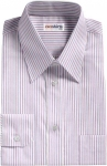 Purple/Lt. Blue Striped Dress Shirts