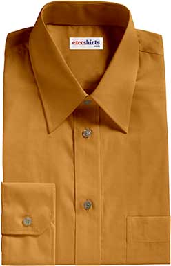 Gold Broadcloth Shirt