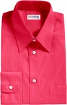 Violet-Red Broadcloth Dress Shirt