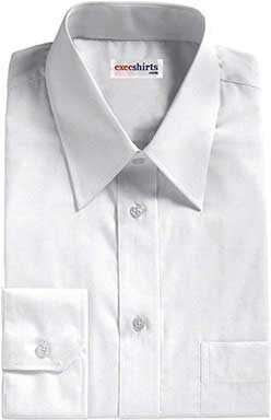 White Oxford Dress Shirt 2