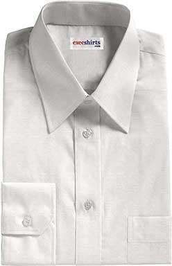 White Weave Dress Shirt