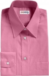 Wine Broadcloth Dress Shirt