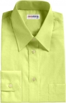 Yellow Broadcloth Dress Shirt