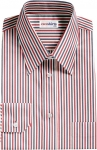 Striped Red/Navy Dress Shirt