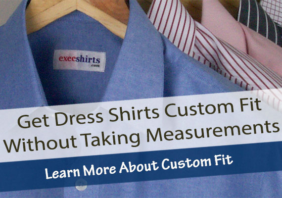 Sizing Options On Fitted Dress Shirts