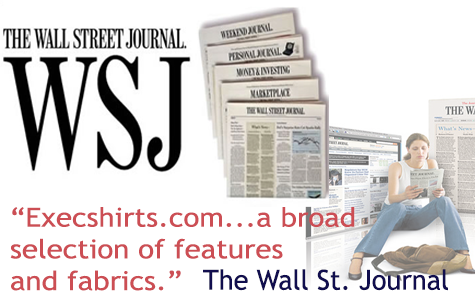 Wall St Journal Reviews Execshirts
