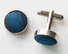 Blue/Black Cuff Links