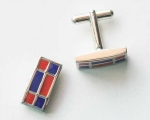 Red/Blue Cuff Links