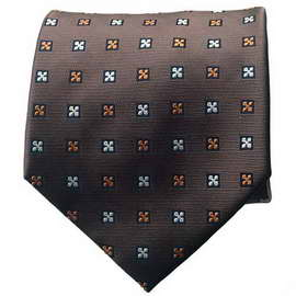 Brown/Orange Neck Tie