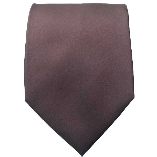 Chocolate Brown Neck Tie