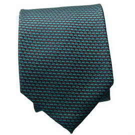 Green Multi Colored Neck Tie