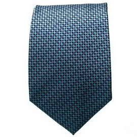 Lt. Blue Multi Colored Neck Ties With Neck Tie