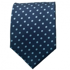 Lt. Blue Polka Dot Neck Tie