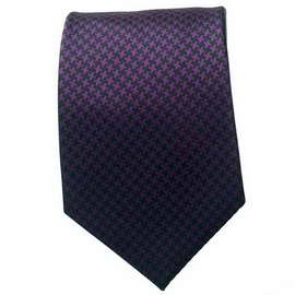 Purple/Black Neck Tie