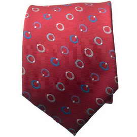 Red/Blue Neck Ties With Neck Tie
