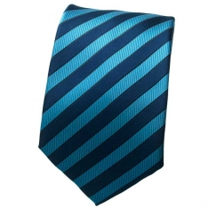 Lt Blue/Blue Striped Neck Tie