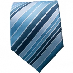Lt. Blue Multi Striped 2 Neck Tie