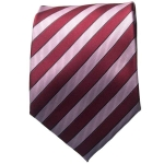 Maroon/Pink Striped Neck Tie