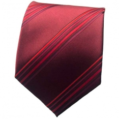 Red Striped Neck Tie 3