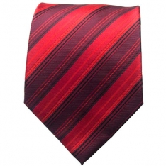 Red Striped Neck Tie 4