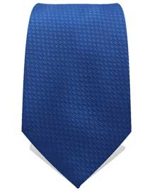 Royal Blue Woven Neck Tie