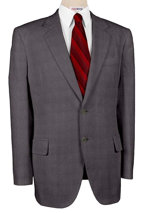 Super 110 Grey Men's Suits