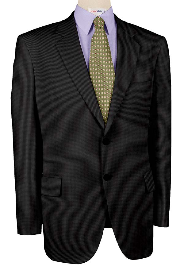 Super 120 Grey Striped Suits