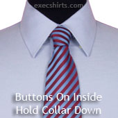 Inside Buttons Dress Shirt