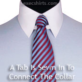 Fabric Tab Collar