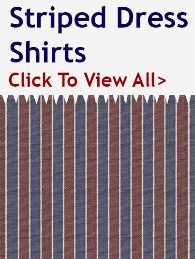 Custom Striped Dress Shirts