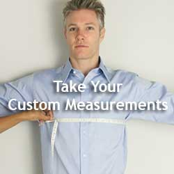 Measure For Custom Dress Shirts