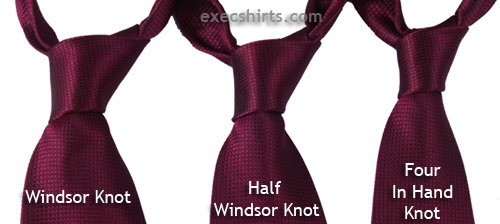 Dress Shirt Tie Knots