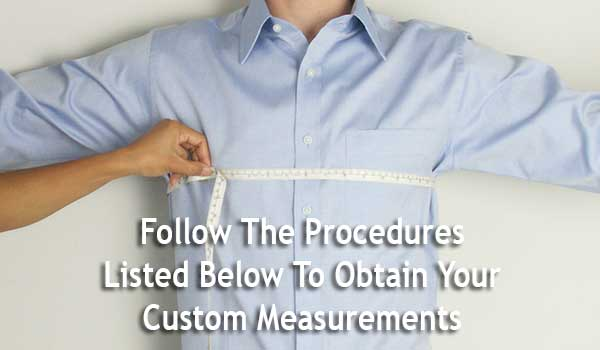 Measure Body Custom Dress Shirts