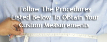 Measure Custom Dress Shirt