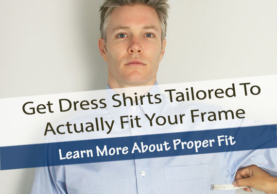 Proper Fit On Custom Dress Shirts